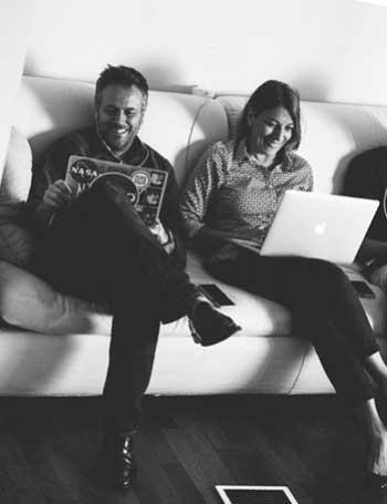 Laura Coppola e Massimo Carraro, fondatori Rete Cowo Coworking Network