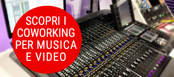contatto e informazioni su coworking per digital music and video maker